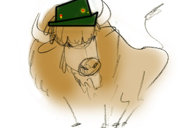 German Buffalo character