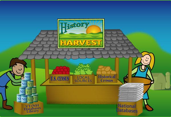 Farmstand illustration
