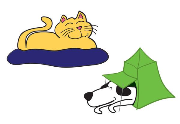 Jenny\'s Pet Stuff characters