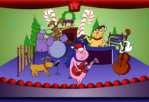 Petfinder Animal Band characters