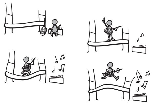 Rockin\' cartoon