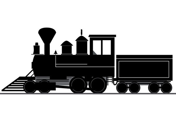 Steam Train art