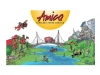 Amica illustrated scene