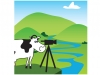 BCTV Cow character