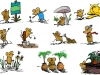 Gardening Mice illustrations