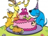 Petfinder 10th Anniversary card illustration