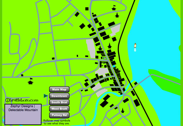 Brattleboro Animated Map