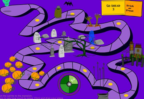 Halloween Graveyard Game