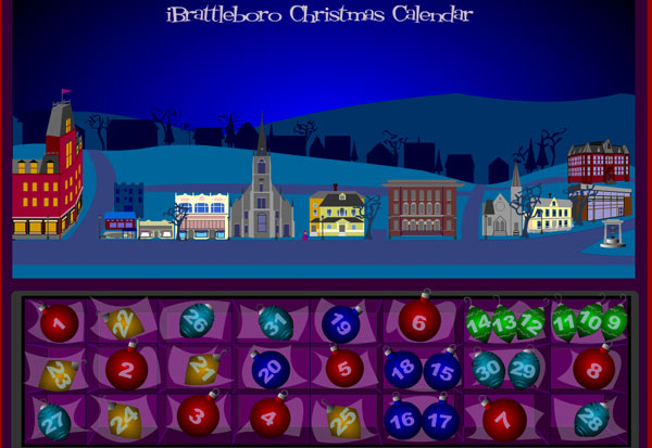 Animated Advent Calendar