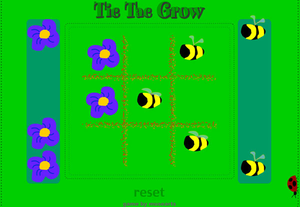 Tic Tac Grow game