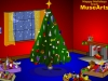 Decorate a Christmas Tree holiday card