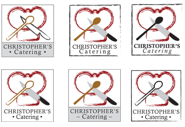 Christopher's Catering logos