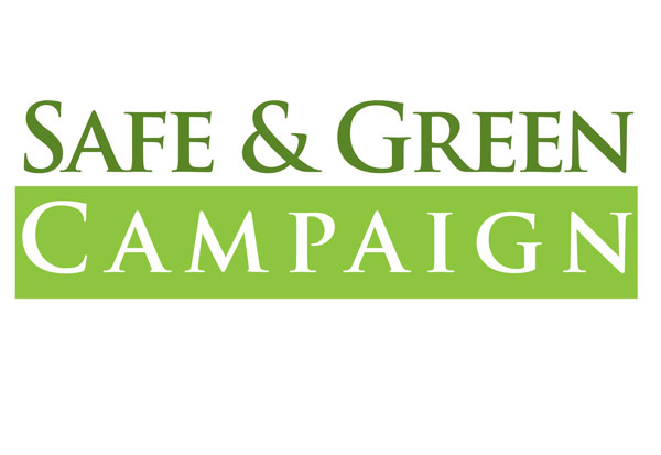 Safe & Green Campaign logo