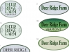 Deer Ridge Farm logos