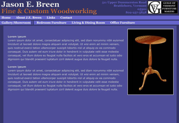 Jason Breen Woodworking