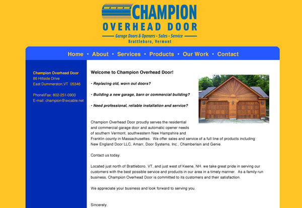 Champion Overhead Doors