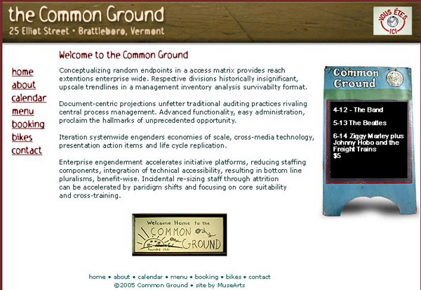 Common Ground Restaurant