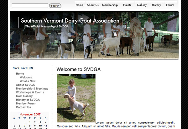 Southern Vermont Goats Association
