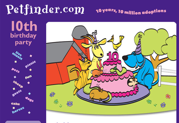 Petfinder Invite