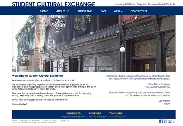 Student Cultural Exchange