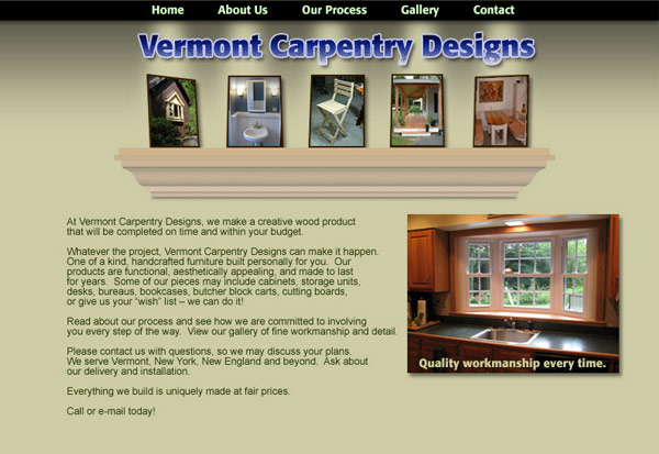 Vermont Carpentry Design