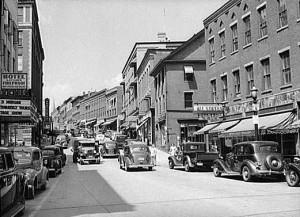 Brattleboro  Main Street 1941
