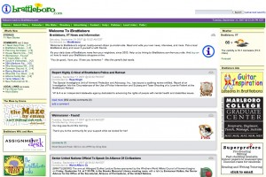 iBrattleboro.com homepage