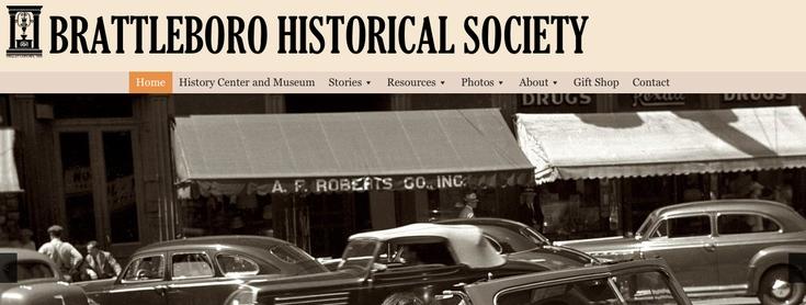 Brattleboro Historical Society slide