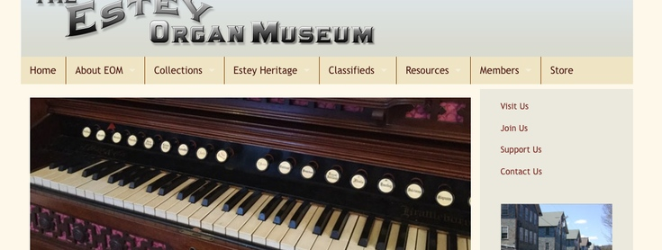 Estey Organ Museum slide