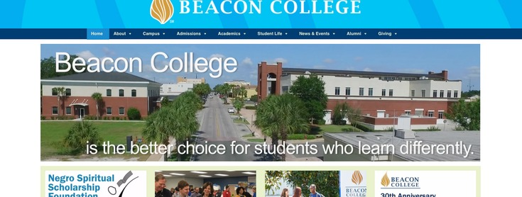 Beacon College slide