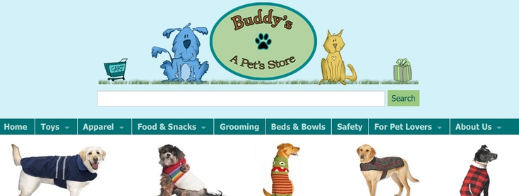 Buddy's A Pet's Store slide
