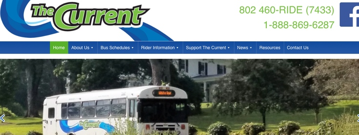 The Current Bus Service slide